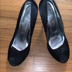 Deb open toe high heels